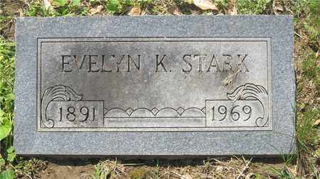 STARK, EVELYN K. - Franklin County, Ohio | EVELYN K. STARK - Ohio Gravestone Photos