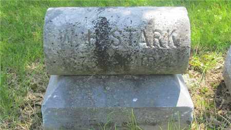 STARK, W.H. - Franklin County, Ohio   W.H. STARK - Ohio Gravestone Photos