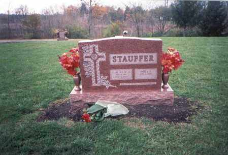 STAUFFER, JR, CHARLES W - Franklin County, Ohio | CHARLES W STAUFFER, JR - Ohio Gravestone Photos
