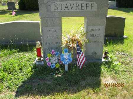 STAVREFF, JEFF G - Franklin County, Ohio | JEFF G STAVREFF - Ohio Gravestone Photos