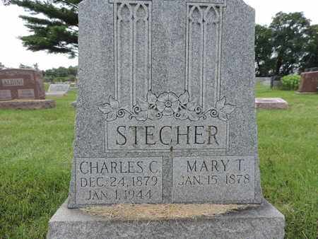 STECHER, MARY T. - Franklin County, Ohio | MARY T. STECHER - Ohio Gravestone Photos
