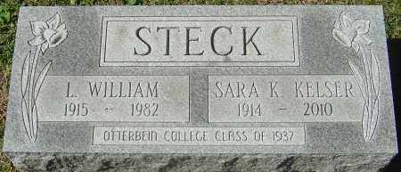 STECK, LESTER WILLIAM - Franklin County, Ohio | LESTER WILLIAM STECK - Ohio Gravestone Photos