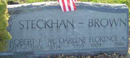 BROWN, M DARLENE - Franklin County, Ohio | M DARLENE BROWN - Ohio Gravestone Photos
