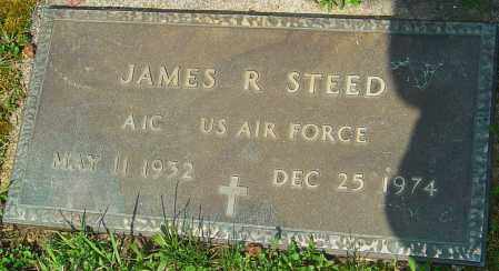 STEED, JAMES R - Franklin County, Ohio | JAMES R STEED - Ohio Gravestone Photos