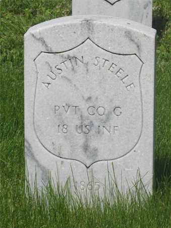 STEELE, AUSTIN - Franklin County, Ohio | AUSTIN STEELE - Ohio Gravestone Photos