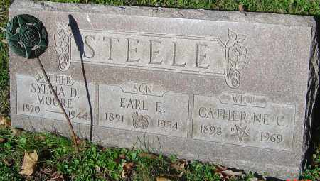 STEELE, CATHERINE C - Franklin County, Ohio | CATHERINE C STEELE - Ohio Gravestone Photos