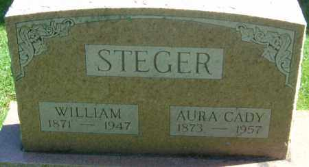 STEGER, AURA - Franklin County, Ohio | AURA STEGER - Ohio Gravestone Photos