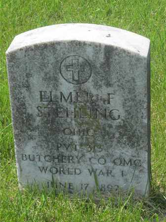 STEHLING, ELMER F. - Franklin County, Ohio   ELMER F. STEHLING - Ohio Gravestone Photos