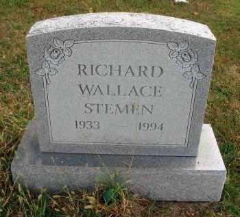 STEMEN, RICHARD WALLACE - Franklin County, Ohio | RICHARD WALLACE STEMEN - Ohio Gravestone Photos