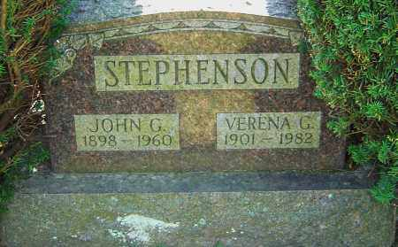STEPHENSON, JOHN G - Franklin County, Ohio | JOHN G STEPHENSON - Ohio Gravestone Photos