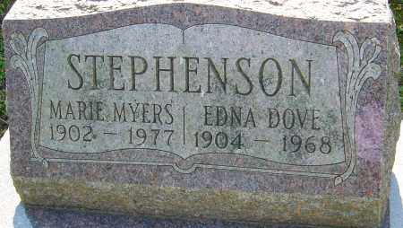 MYERS STEPHENSON, MARIE - Franklin County, Ohio | MARIE MYERS STEPHENSON - Ohio Gravestone Photos