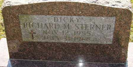 "STERNER, RICHARD M ""DICKY"" - Franklin County, Ohio 
