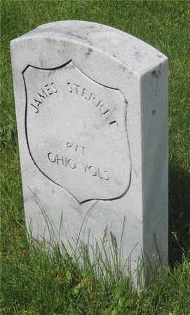 STERRET, JAMES - Franklin County, Ohio | JAMES STERRET - Ohio Gravestone Photos