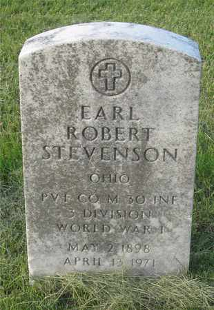 STEVENSON, EARL ROBERT - Franklin County, Ohio | EARL ROBERT STEVENSON - Ohio Gravestone Photos