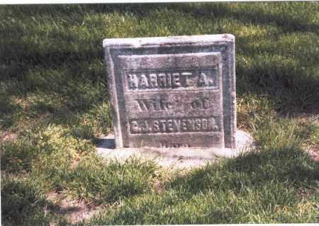 STEVENSON, HARRIET A. - Franklin County, Ohio | HARRIET A. STEVENSON - Ohio Gravestone Photos