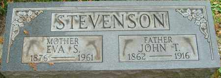 STEVENSON, EVA S - Franklin County, Ohio | EVA S STEVENSON - Ohio Gravestone Photos