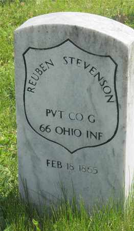 STEVENSON, REUBEN - Franklin County, Ohio | REUBEN STEVENSON - Ohio Gravestone Photos