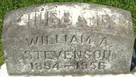 STEVENSON, WILLIAM A - Franklin County, Ohio | WILLIAM A STEVENSON - Ohio Gravestone Photos
