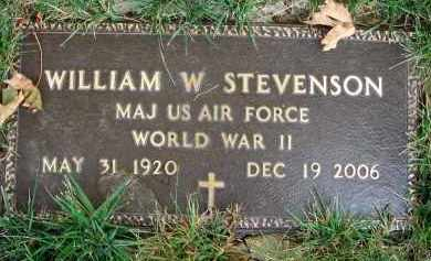 STEVENSON, WILLIAM W. - Franklin County, Ohio | WILLIAM W. STEVENSON - Ohio Gravestone Photos
