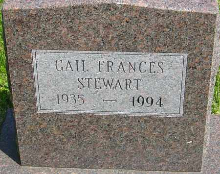 STEWART, GAIL FRANCES - Franklin County, Ohio | GAIL FRANCES STEWART - Ohio Gravestone Photos