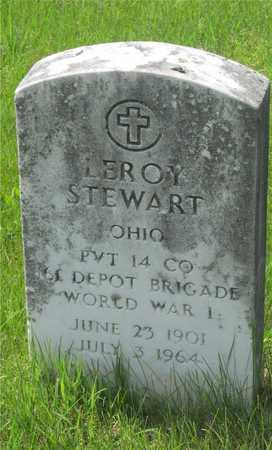 STEWART, LEROY - Franklin County, Ohio | LEROY STEWART - Ohio Gravestone Photos