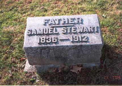 STEWART, SAMUEL - Franklin County, Ohio | SAMUEL STEWART - Ohio Gravestone Photos