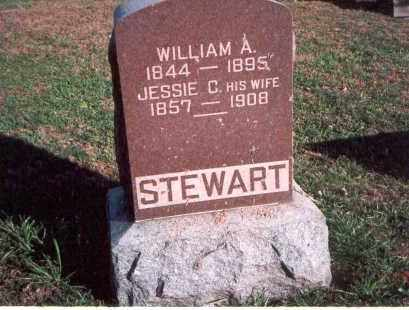 STEWART, WILLIAM A. - Franklin County, Ohio | WILLIAM A. STEWART - Ohio Gravestone Photos