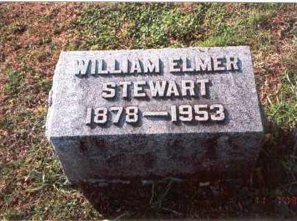 STEWART, WILLIAM ELMER - Franklin County, Ohio | WILLIAM ELMER STEWART - Ohio Gravestone Photos