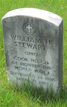 STEWART, WILLIAM H. - Franklin County, Ohio | WILLIAM H. STEWART - Ohio Gravestone Photos