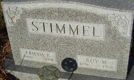 STIMMEL, FRIEDA B - Franklin County, Ohio | FRIEDA B STIMMEL - Ohio Gravestone Photos