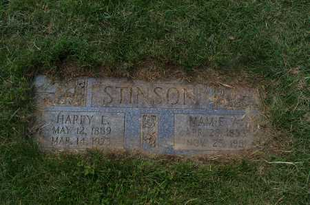 STINSON, MAMIE - Franklin County, Ohio | MAMIE STINSON - Ohio Gravestone Photos
