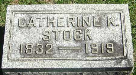 KAHLER STOCK, CATHERINE - Franklin County, Ohio | CATHERINE KAHLER STOCK - Ohio Gravestone Photos