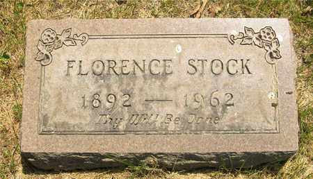 STOCK, FLORENCE - Franklin County, Ohio | FLORENCE STOCK - Ohio Gravestone Photos