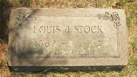 STOCK, LOUIS J. - Franklin County, Ohio | LOUIS J. STOCK - Ohio Gravestone Photos