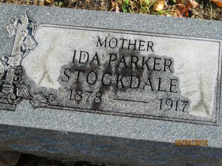 PARKER STOCKDALE, IDA MARY - Franklin County, Ohio | IDA MARY PARKER STOCKDALE - Ohio Gravestone Photos