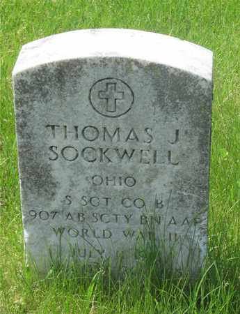 STOCKWELL, THOMAS J. - Franklin County, Ohio | THOMAS J. STOCKWELL - Ohio Gravestone Photos