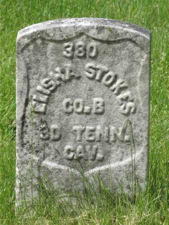 STOKES, ELISHA - Franklin County, Ohio | ELISHA STOKES - Ohio Gravestone Photos