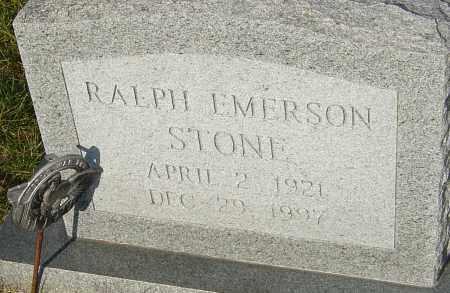 STONE, RALPH EMERSON - Franklin County, Ohio | RALPH EMERSON STONE - Ohio Gravestone Photos
