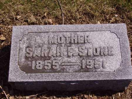 STONE, SARAH F. - Franklin County, Ohio | SARAH F. STONE - Ohio Gravestone Photos
