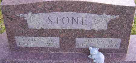 STONE, BONNA - Franklin County, Ohio | BONNA STONE - Ohio Gravestone Photos