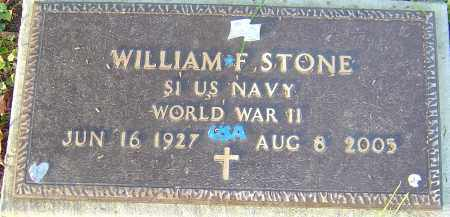 STONE, WILLIAM F - Franklin County, Ohio | WILLIAM F STONE - Ohio Gravestone Photos