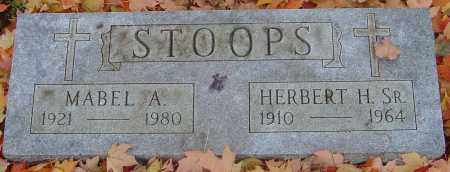 STOOPS, MABEL A - Franklin County, Ohio | MABEL A STOOPS - Ohio Gravestone Photos