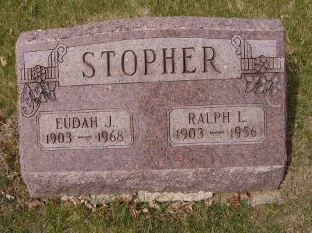 STOPHER, EUDAH J. - Franklin County, Ohio | EUDAH J. STOPHER - Ohio Gravestone Photos