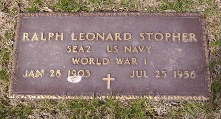 STOPHER, RALPH LEONARD - Franklin County, Ohio | RALPH LEONARD STOPHER - Ohio Gravestone Photos