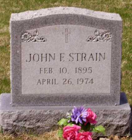 STRAIN, JOHN F. - Franklin County, Ohio | JOHN F. STRAIN - Ohio Gravestone Photos