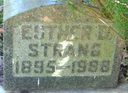 DAVIS STRANG, ESTHER - Franklin County, Ohio | ESTHER DAVIS STRANG - Ohio Gravestone Photos