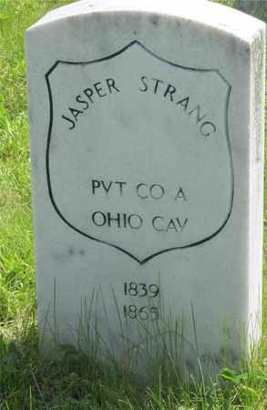 STRANG, JASPER - Franklin County, Ohio | JASPER STRANG - Ohio Gravestone Photos