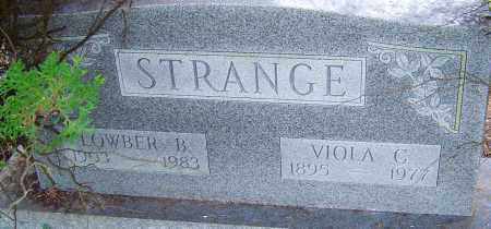 STRANGE, VIOLA - Franklin County, Ohio | VIOLA STRANGE - Ohio Gravestone Photos