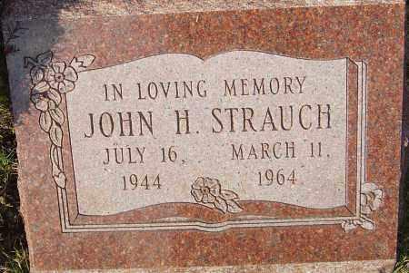 STRAUCH, JOHN H - Franklin County, Ohio | JOHN H STRAUCH - Ohio Gravestone Photos