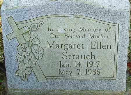 STRAUCH, MARGARET ELLEN - Franklin County, Ohio | MARGARET ELLEN STRAUCH - Ohio Gravestone Photos